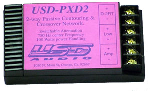 PXD-2 Crossover Network
